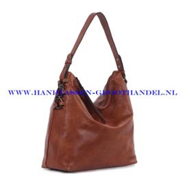 N38 Handtas Ines Delaure 1682221 camel
