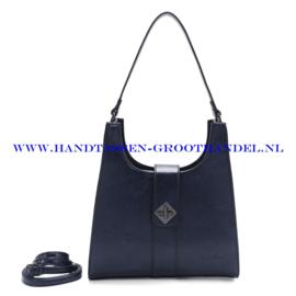 N72 Handtas Ines Delaure 1682517 nuit (blauw)