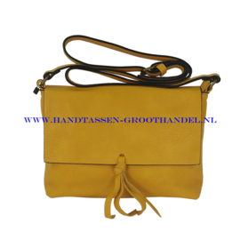 N32 Handtas Flora & Co 8044 moutarde (mosterd - geel)