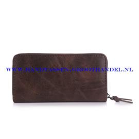 N60 portemonnee Ines Delaure E002 marron (bruin)