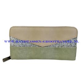 N18 portemonnee Mandoline 198 groen