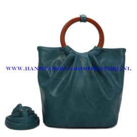 N73 Handtas Ines Delaure 1682617 bleu paon (blauw)