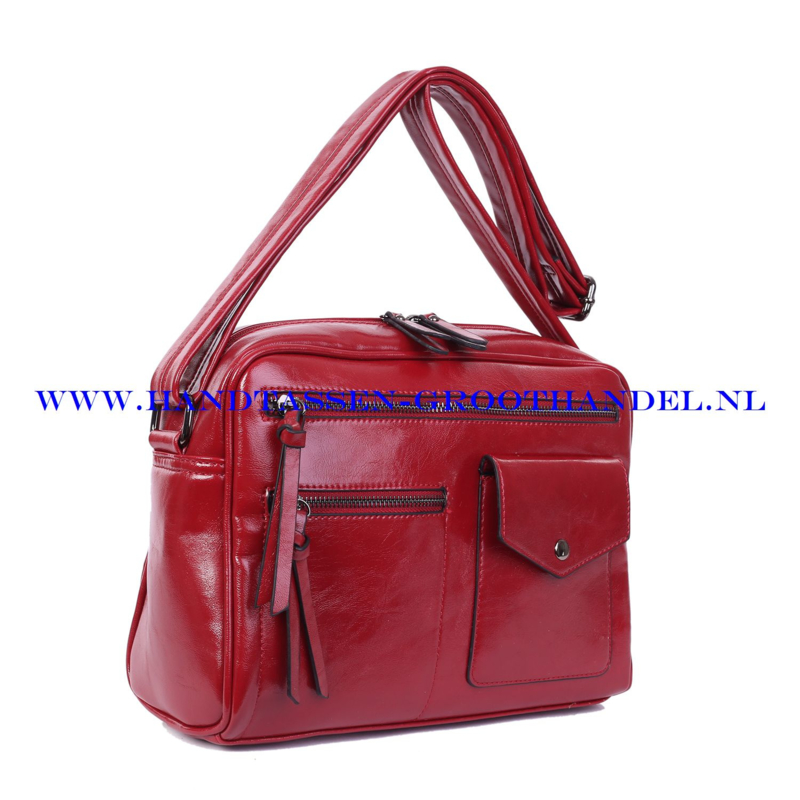 N38 Handtas Ines Delaure 1682235 rood