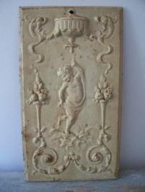 Antiek ornament met engel SOLD