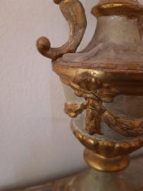Set antieke Franse kandelaars Sold