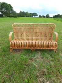 Vintage rohe rotan bank SOLD