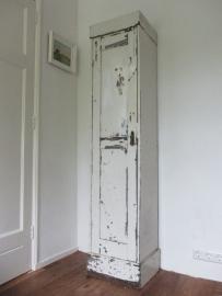 Oud houten locker kastje SOLD