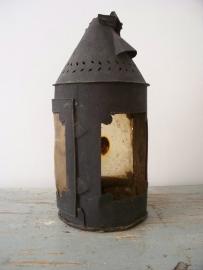 Oude Franse lantaarn (rond model) SOLD