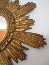 Antieke Franse zonnenspiegel SOLD