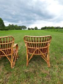 Vintage rohe rotan stoelen SOLD