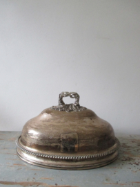 Oude cloche hotelzilver SOLD