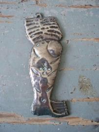 Antiek Frans zilveren ex voto been SOLD