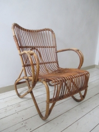Rotan stoel SOLD