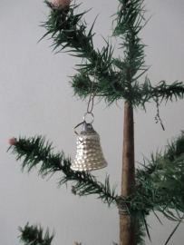 Oude antieke kerstbal / klokje
