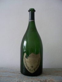 Grote oude champagnefles SOLD