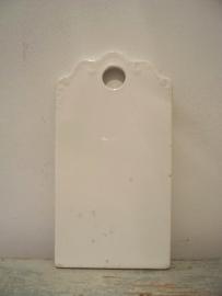 Antiek porseleinen snijplankje SOLD
