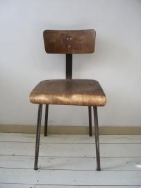 Oude industriele bureaustoel SOLD