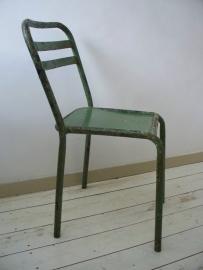 Industriele oude terrasstoel SOLD