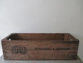 Oud houten bananenkrat SOLD