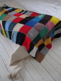 Vintage gehaakte deken SOLD