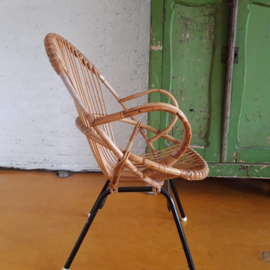 Rohe rotan stoel SOLD