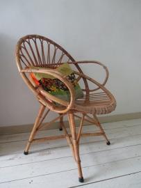 Rohe rotan stoel vintage  / retro SOLD