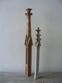 Antieke gotische torentje
