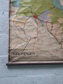 Oude schoolplaat Groningen