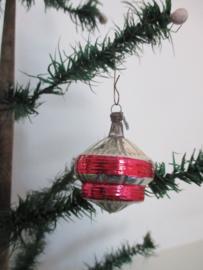 Oude antieke kerstbal / tol SOLD