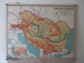 Oude schoolplaat Donaulanden