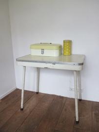 Vintage retro keukentafeltje Brabantia
