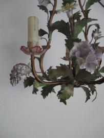 Kroonluchtertje met bloemen SOLD