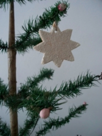Oude kerstster SOLD