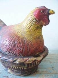 Oude voorraadpot kip SOLD