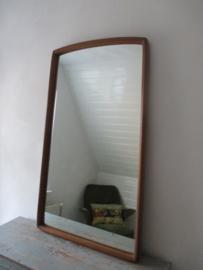 Grote vintage retro spiegel SOLD