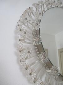 Retro/ vintage wandlamp met spiegel SOLD