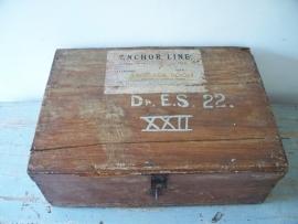 Antieke koffer SOLD