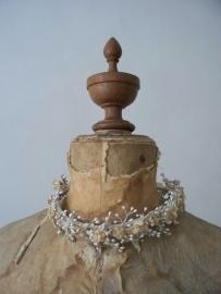 Antiek Frans bruidskroontje/waskroontje SOLD