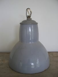Grote oude industriele lamp SOLD