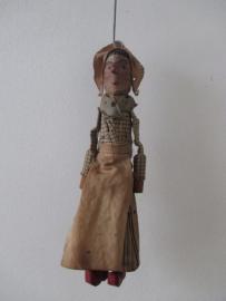 Antieke marionettenpop katrijn SOLD
