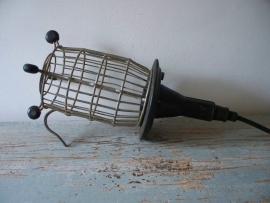 Oude industriele werklamp XXL SOLD
