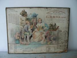 Antieke Franse kalender 1901 SOLD