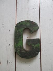 Houten letter G SOLD