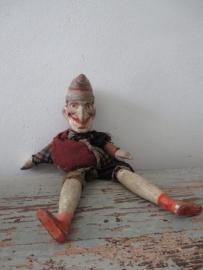 Antieke marionettenpop jan klaasen SOLD
