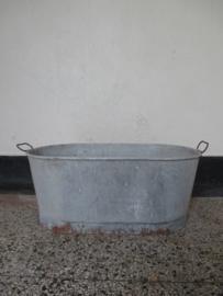 Oude zinken teil / badje SOLD
