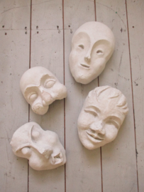 Oude Franse mallen / maskers SOLD