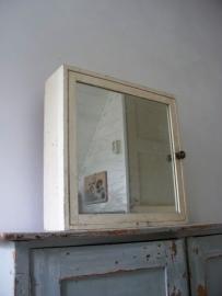 Frans spiegelkastje SOLD