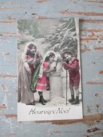 Antieke kerstkaart SOLD