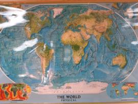 Wereldkaart / schoolplaat