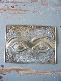 Antiek Frans zilveren ex voto ogen SOLD